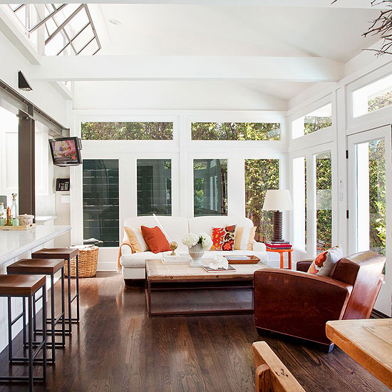 Living Room Additions Ideas: Bring The Coast Home In Your Sunroom