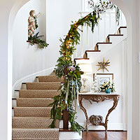 Indoor Christmas Garlands