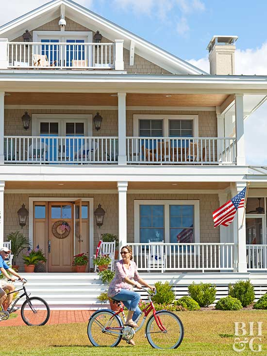 rely on the classics - Exterior House Color Schemes