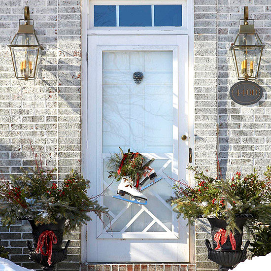 Add a Twist to Your Front Door Decor