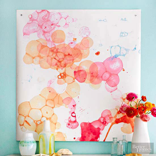 Paint Technique: Watercolor Bubbles
