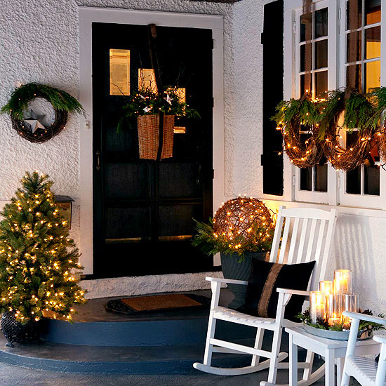 Christmas Lights for Every Style Home