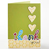 Simple Thanks Mother's Day Card