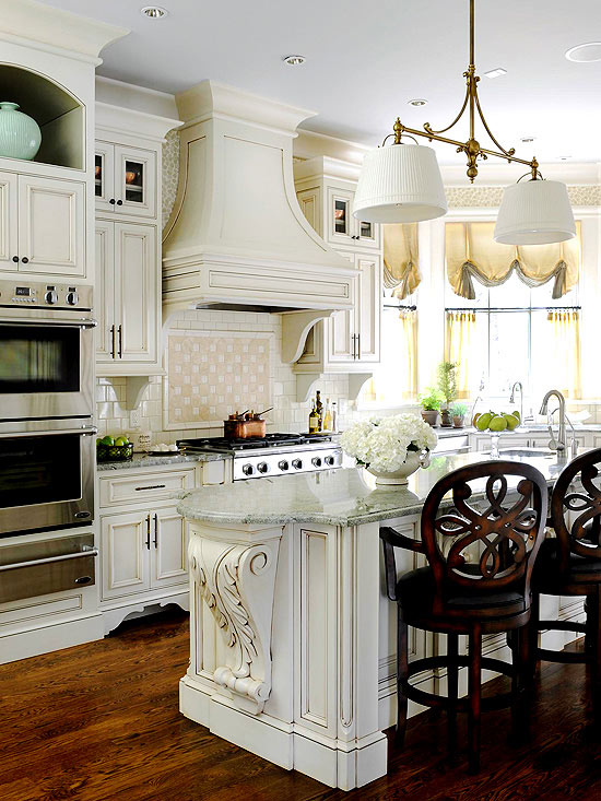 Kitchen Tour: Traditional French Kitchen