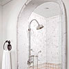 Shower with Arched Entry