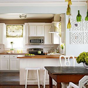Dreary to Bright Kitchen Makeover