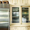 Fluted- or Reeded-Glass Cabinet Doors