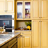 Mellowing Colored Cabinets