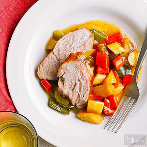 Pork Roast and Harvest Vegetables