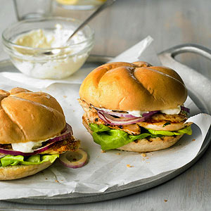 Ginger Lime Chicken Sandwiches