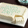 Easy Father's Day Sheet Cake