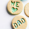 We Heart Dad Cookies