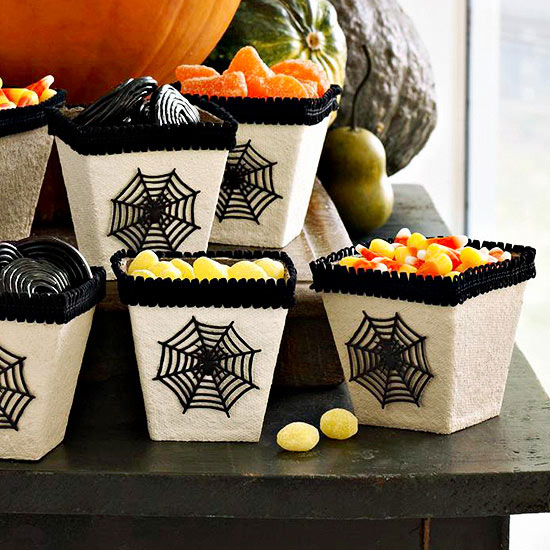 Spiderweb Treat Boxes