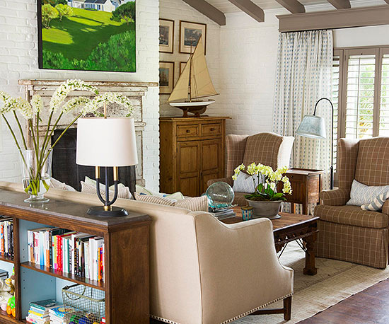 Living room color ideas neutral for Neutral family room ideas