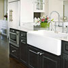 High Contrast Farmhouse Sink 