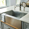 Sleek, Modern Farmhouse Sink