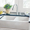 Divided Farmhouse Sink
