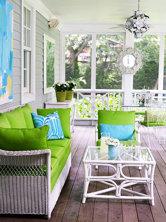 indoor porches youll love - Indoor Patio Ideas