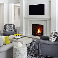 TVs Over Fireplaces