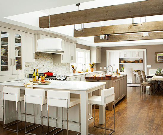 Kitchen Makeover: Divided into Zones