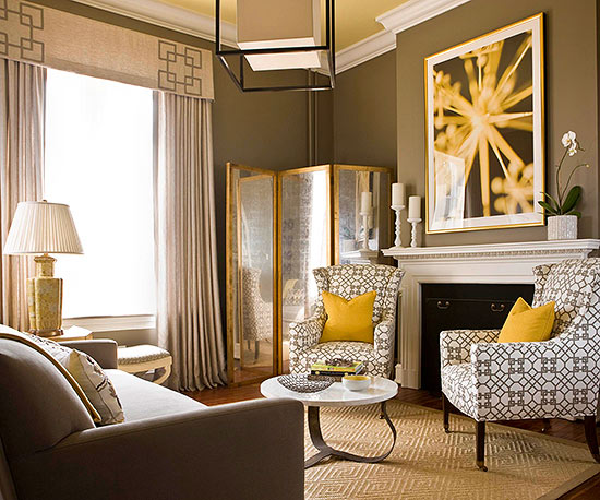 What colors go with brown - Accent colors for beige living room ...