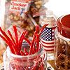 Patriotic Snack Station