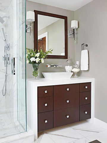 Modern Master Bathroom Makeover