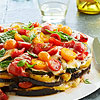 Smoky Grilled Vegetable Torte