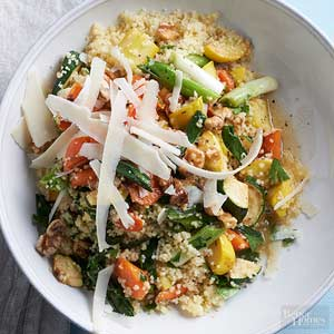 Lime Couscous with Summer Veggies