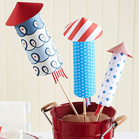 4th of July Food and Crafts