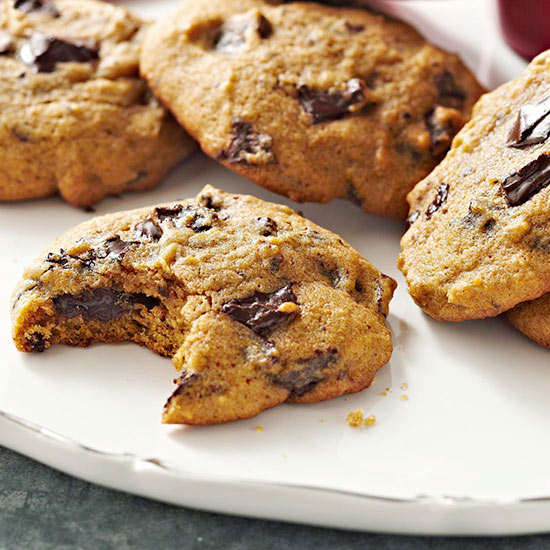 Pumpkin chocolate chunk cookies for Better homes and gardens chocolate chip cookies