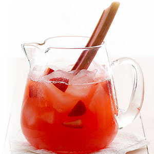 Strawberry-Rhubarb Lemonade