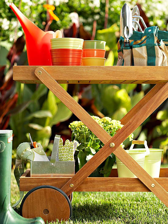 Easy Ways to Organize Garden Gear