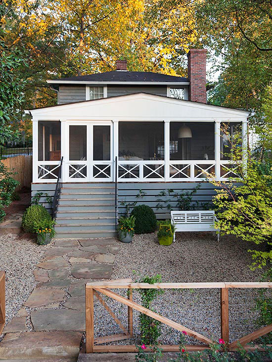 screened cat house screen porches