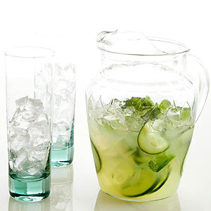 Minted Cucumber Nojitos