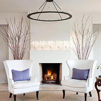 Sleek Fireplaces