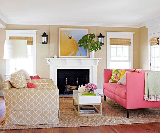 Living Room Color Scheme: Fun with Neutrals