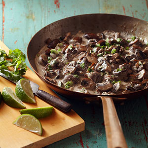 Chile-Garlic Mushrooms (Champinones al Ajillo)