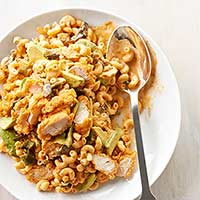 See: Southwestern Chicken and Macaroni Salad