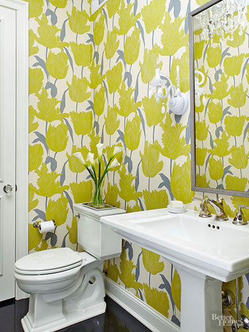 Stylish Powder Rooms