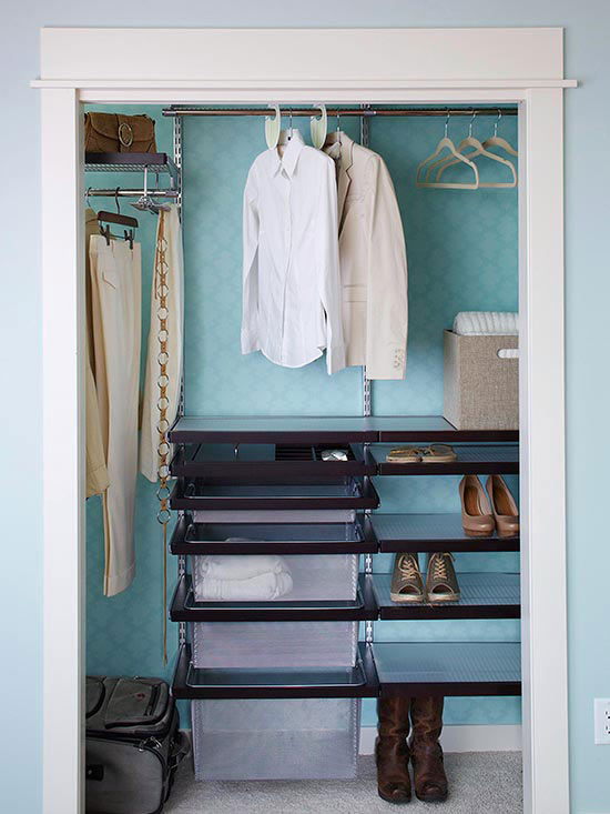 Do It Yourself Home Design: DIY Wire Closet System