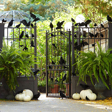 Eerie Outdoor Decorations for Halloween