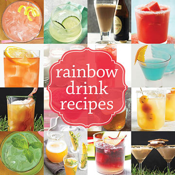 Bright and Colorful Drinks