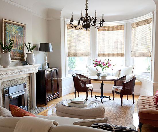 Charming Bay Window Sitting Area