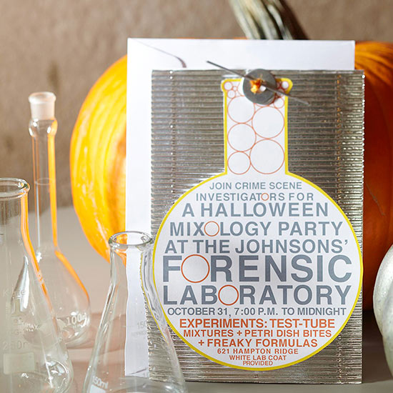 Crime Lab Halloween Party for Adults