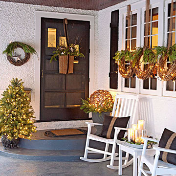 Holiday Porch Decor
