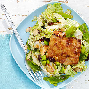Maple Mahi Mahi Salad