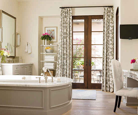 Spa-Like Bathroom Features