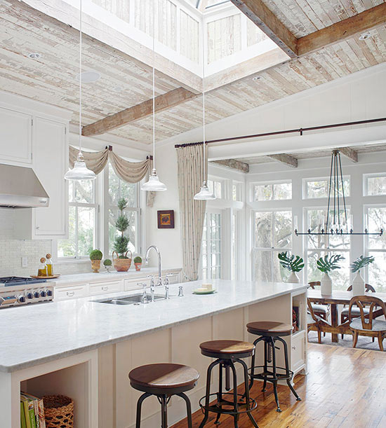 Dramatic Kitchen Skylight