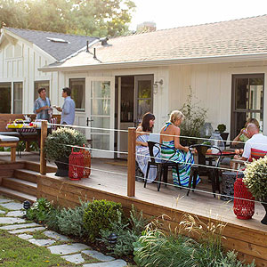 Throw an Outdoor Party on the Deck